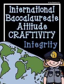 IB Craftivity - Integrity