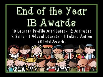 IB Certificates: End of Year Awards