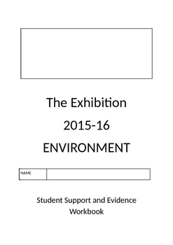 IB Exhibition Student Support Booklet (TPT Model)