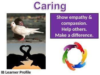 IB Learner Profile - 7 of 10 - CARING Lesson Plan