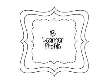 IB Learner Profile Signs