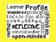 IB Learner Profile - kid friendly descriptions and pictures