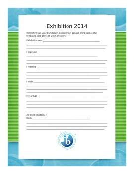 IB PYP Exhibition Reflection