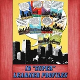 IB PYP & MYP Learning Profile SUPER Posters 8.5x11 Paper