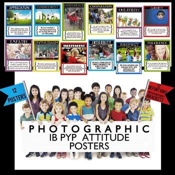 IB PYP Photographic Attitude Posters