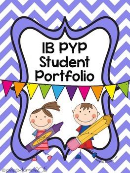 IB PYP Portfolio Binder Cover