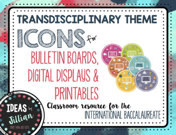 IB PYP-Transdisciplinary Theme Icons