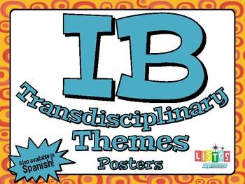 IB TRANSDISCIPLINARY THEME Posters