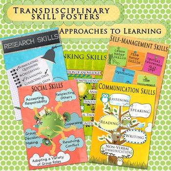 IB Transdisciplinary Skill Posters US Paper