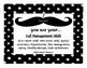 IB Transdisciplinary Skills-mustache with polka dot theme