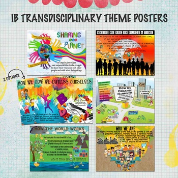 IB Transdisciplinary Theme Posters for US Paper