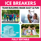 CLASSROOM ICE BREAKERS