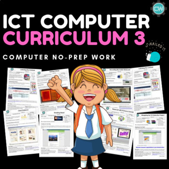ICT Curriculum - Book 3 (Computer Course)