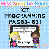 ICT Programming Pages- Early Stage 1