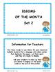 IDIOMS • Set 2 | Figurative Language CORE | BB Cards | Tas