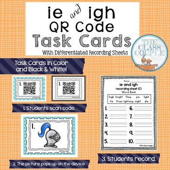 IE and IGH QR Code Task Cards