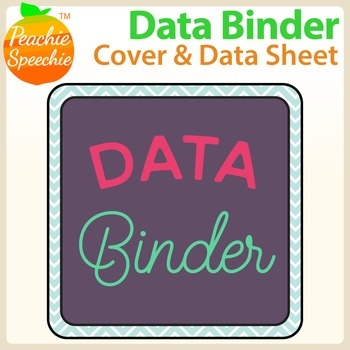 IEP Data Binder {Binder Cover and Data Sheet}