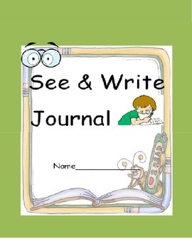 IEP Goal- WH Questions Workbook- See & Write Journal