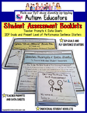 AUTISM - IEP Goals and PLP Statement Starters with Skills