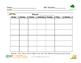 IEP Monthly Minutes Calendar