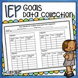 IEP STUDENT GOAL OBJECTIVE TRACKING DATA COLLECTION RECORD