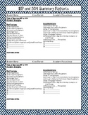 IEP and 504 Summary Sheet