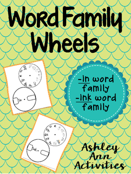 IN/INK WORD FAMILY WHEELS