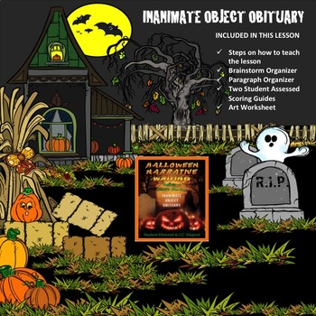 HALLOWEEN INANIMATE OBJECT OBITUARY - CC Narrative Writing