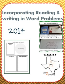 STAAR 5th Grade Math INCORPORATING READING AND WRITING INT