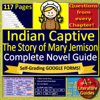Indian Captive: The Story of Mary Jemison Unit Novel Study
