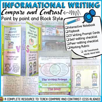 INFORMATIVE/INFORMATIONAL ESSAY WRITING: COMPARE AND CONTR