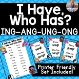 """ING ANG UNG ONG  [Welded Sounds] """"I Have, Who Has?"""""""