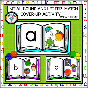 INITIAL SOUND AND LETTER MATCH COVER UP ACTIVITY