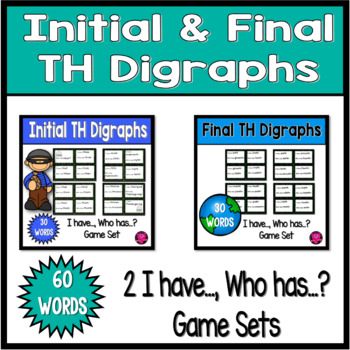 DIGRAPHS with INITIAL and ENDING TH sounds GAME