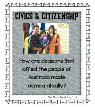 INQUIRING MINDS - QUESTION OF THE DAY - Civics & Citizensh