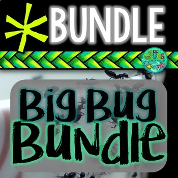 BUG BUNDLE! Ants, Butterflies, Bees, Worms, Snails, Silkwo