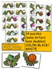 INSECTS-BEGINNING SOUNDS CENTER ACTIVITIES- COLOR+BLACK/WHITE