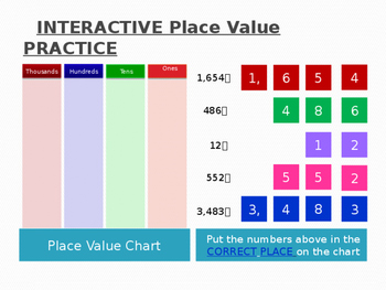 INTERACTIVE Place Value Practice