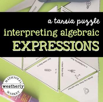 INTERPRETING EXPRESSIONS - a TARSIA jigsaw puzzle