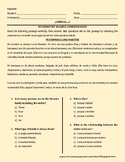 SPANISH: INTERPRETIVE READING COMPREHENSION – DESCRIPTION
