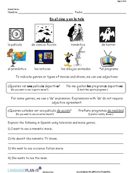 INTRO TO TV SHOWS (SPANISH 2016 EDITION)