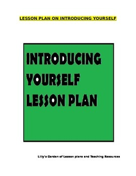 Introducing Yourself Lesson Plan