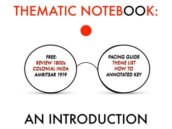 INTRODUCTION TO A THEMATIC NOTEBOOK: COLONIAL INDIA