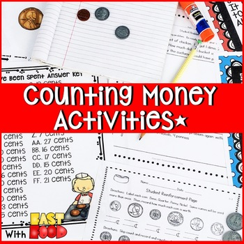INTRODUCTION TO INDENTIFYING AND COUNTING MONEY 2 WEEK UNIT