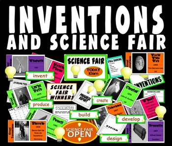 INVENTIONS - SCIENCE FAIR - SCIENCE DISPLAY TECHNOLOGY HISTORY
