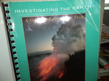 INVESTIGATING THE EARTH         ISBN 0-697-12807-5