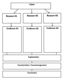 IR Argumentative Essay Graphic Organizer