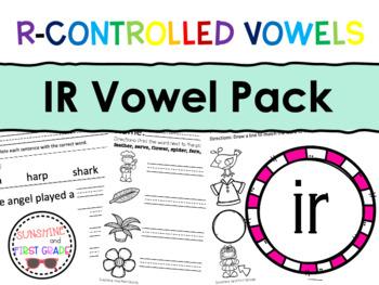 IR R-Controlled Vowel Pack