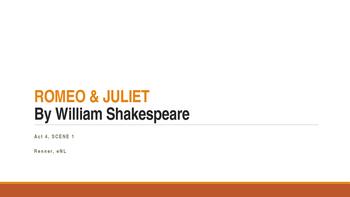 IR Romeo & Juliet - Act 4, Scene 1 - Hyperbole Lesson ppt