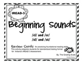 IREAD-3 Beginning Sounds /cr/, /cl/, /sl/, /st/